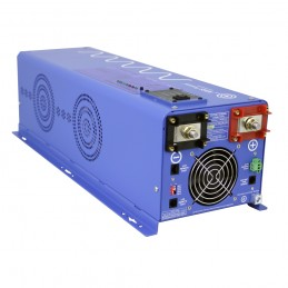 4000 Watt Pure Sine Inverter Charger 12Vdc to 120Vac Output